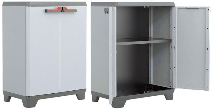 Keter mobile armadio armadietto in resina plastica basso ...