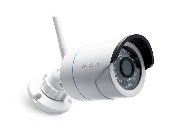 Plafoniera Da Esterno Con Telecamera : Videosorveglianza wireless avidsen telecamera ip wifi pixel